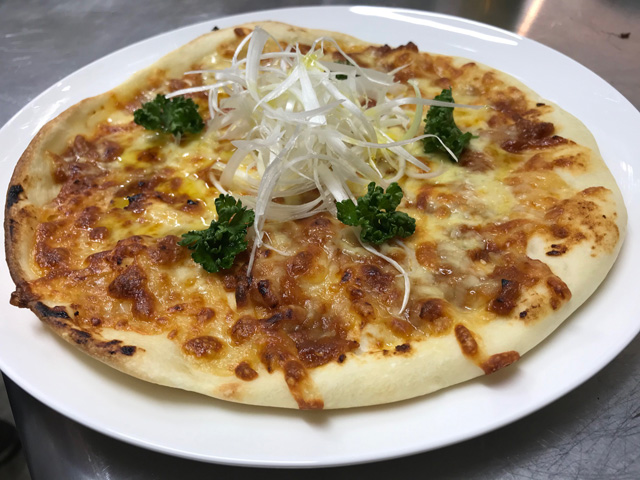 醤油麹ピザ
